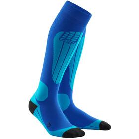 cep Thermo Ski Socks Herrer, blue/azure